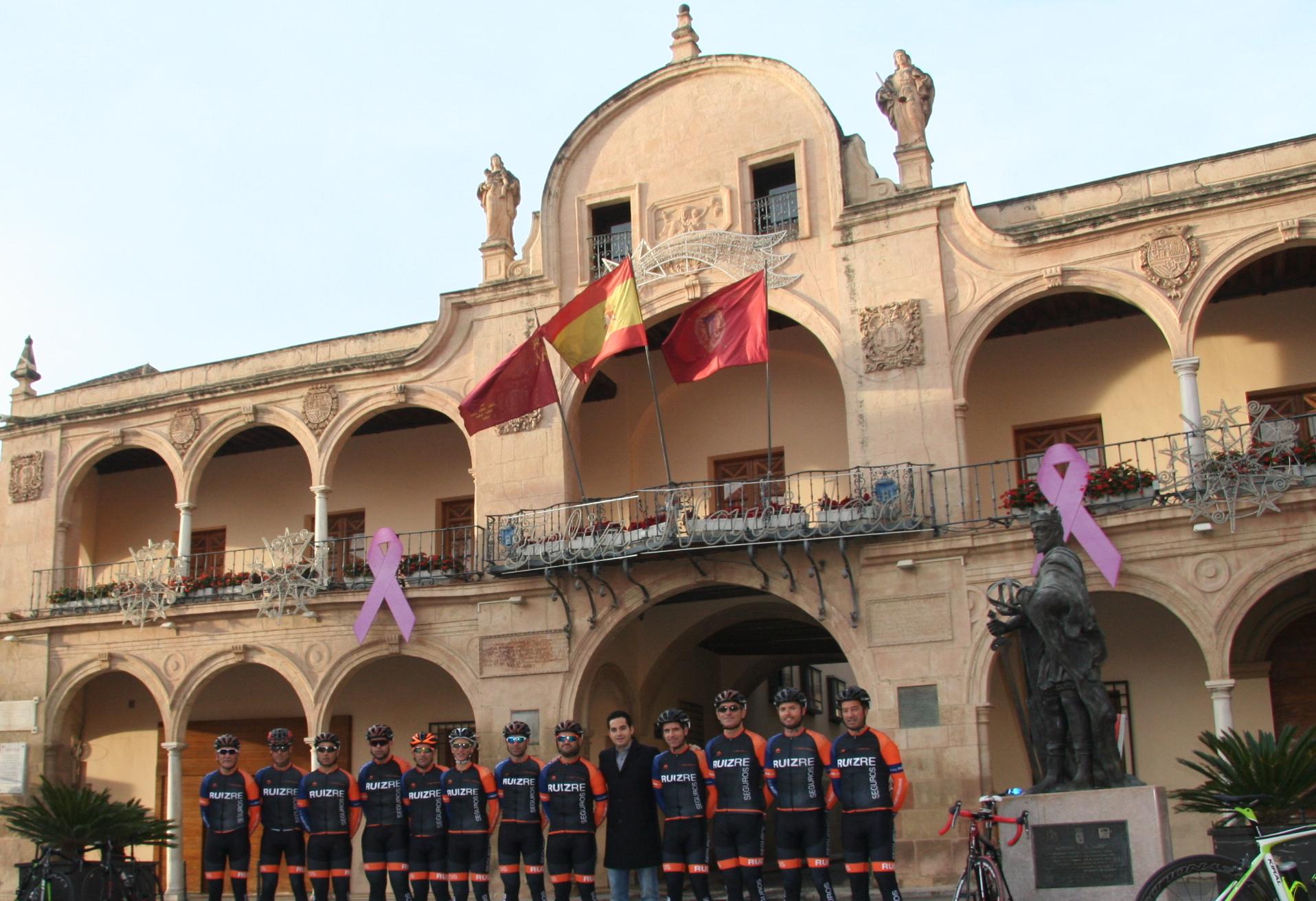 El equipo ciclista ruiz re arranca la temporada 2016 ruizre for Convenio colectivo oficinas y despachos almeria