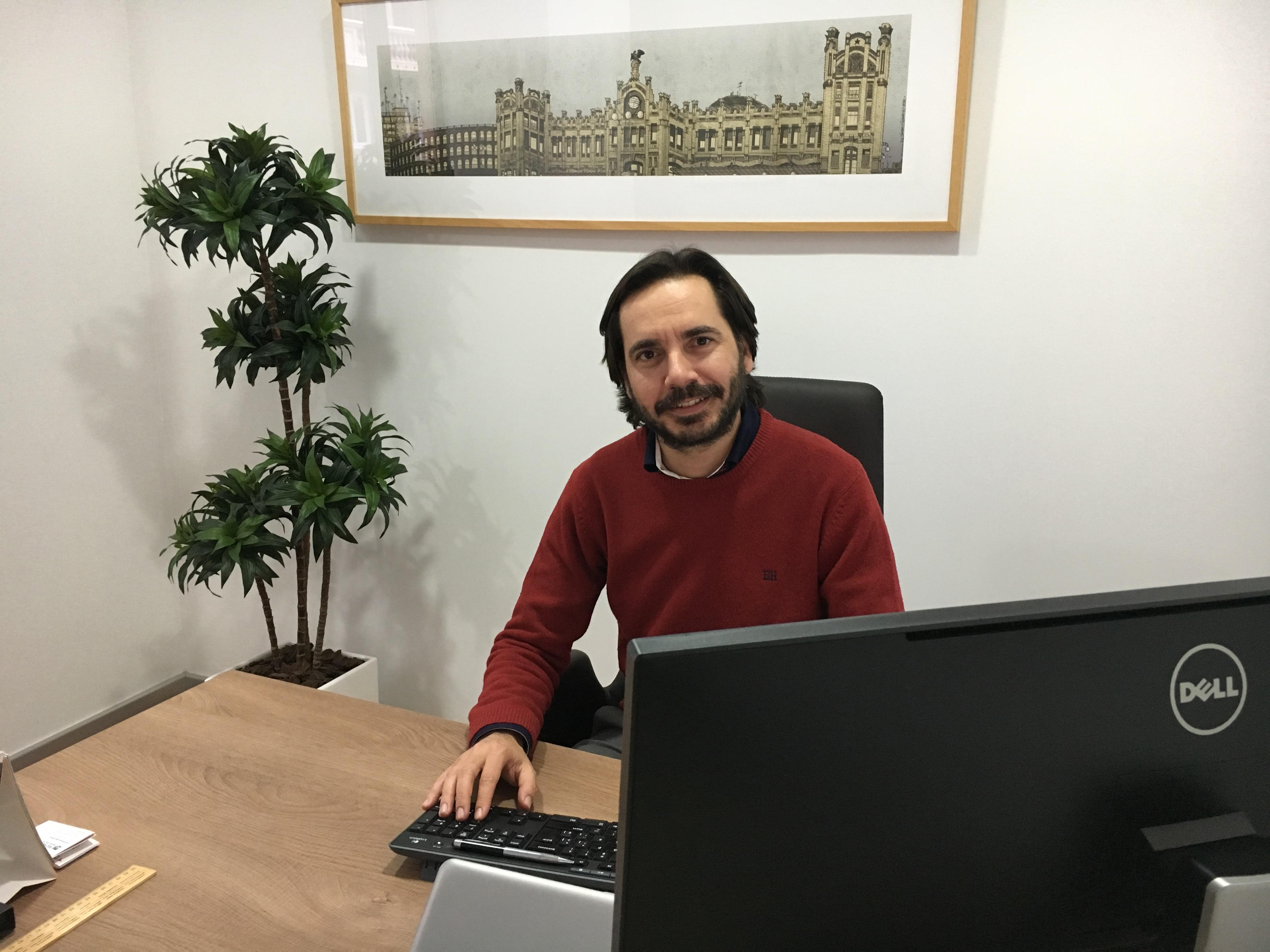 Pablo candela nuevo director de ruiz re levante baleares for Convenio colectivo de oficinas y despachos valencia